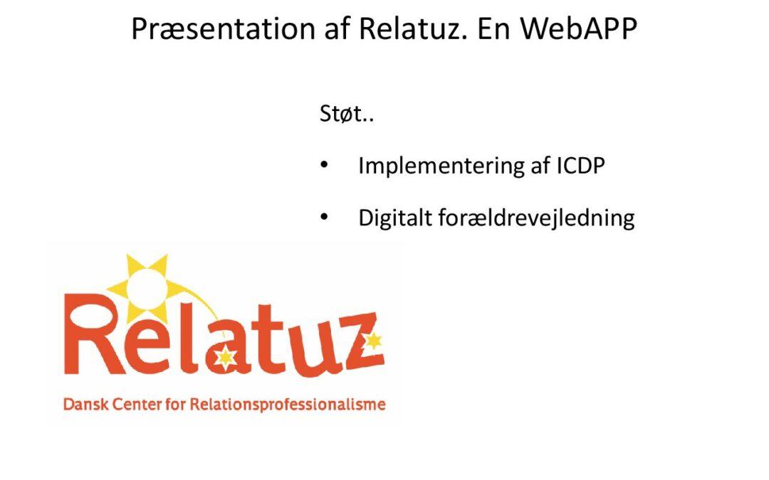 Præsentation af Relatuz