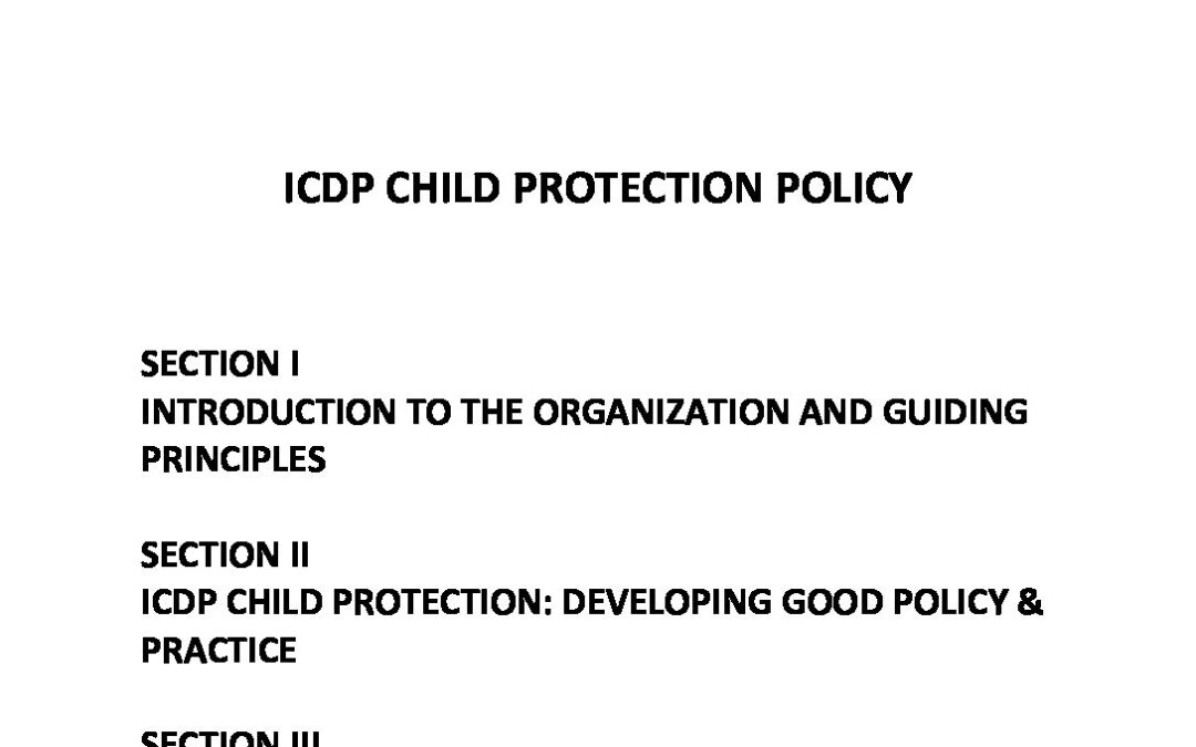 ICDP CHILD PROTECTION POLICY-signed